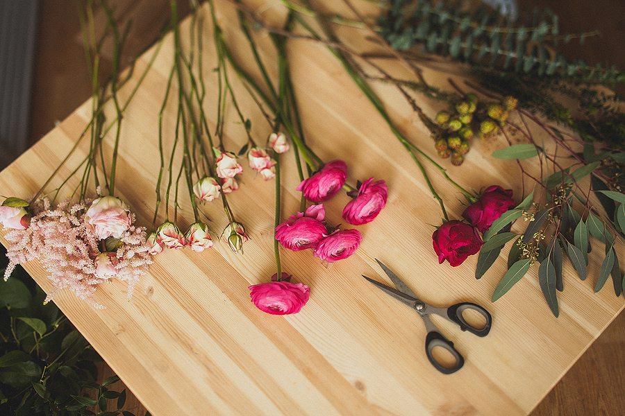Цветочная кухня: яркий характер