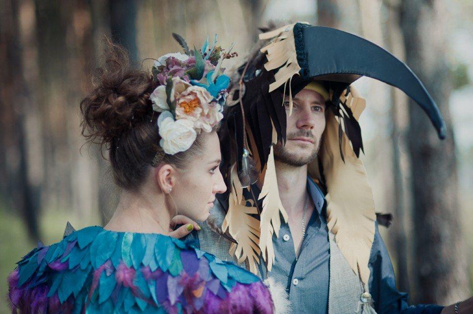 Богемно-деревенские мотивы: свадьба Веры и Евгения