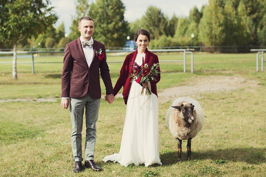 Терпкое вино: свадьба Антона и Татьяны