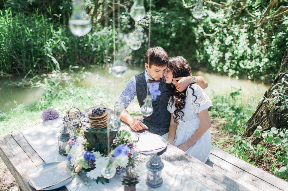 Утро на природе: помолвка Натальи и Игоря