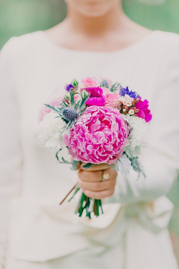 Цветочная нежность: свадьба Дины и Сергея