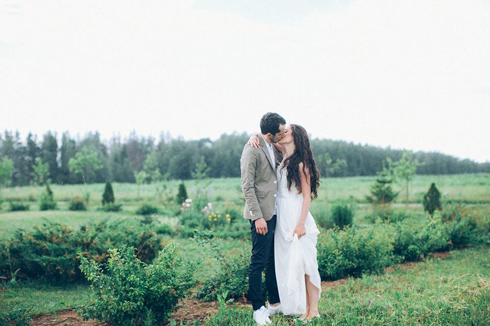 Дождь и любовь: свадьба Павла и Мэри