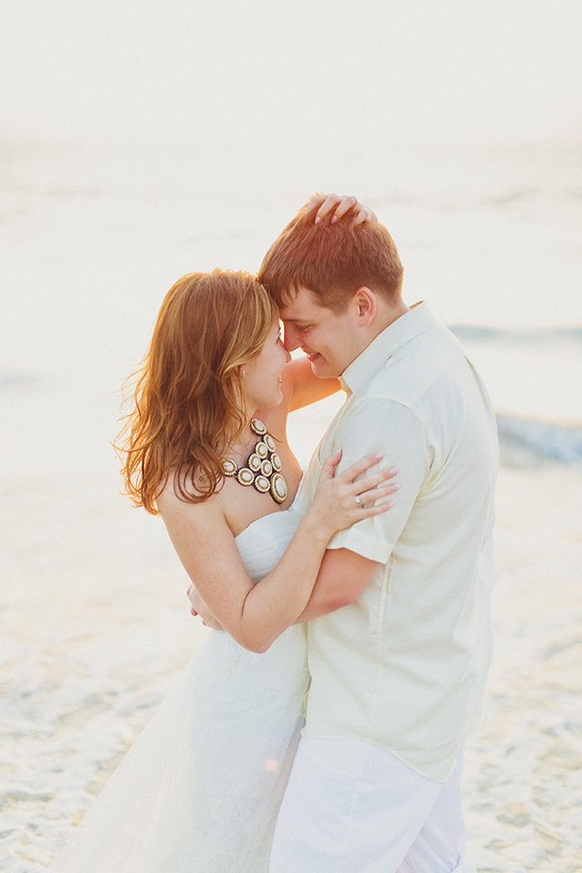 Ласковое солнце: медовый месяц Вадима и Рузалии