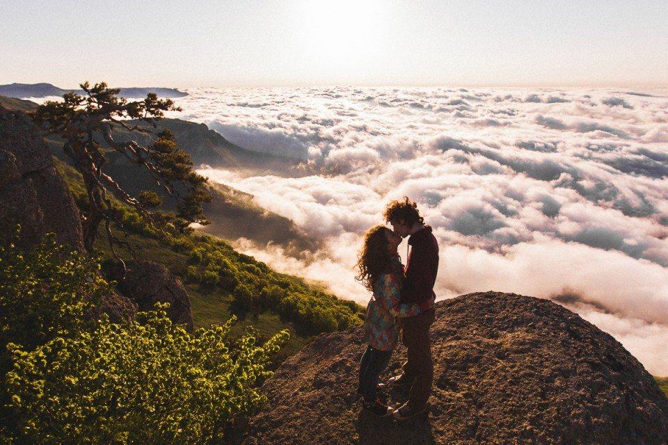 Любовь выше неба: съемка love-story Маши и Ильи