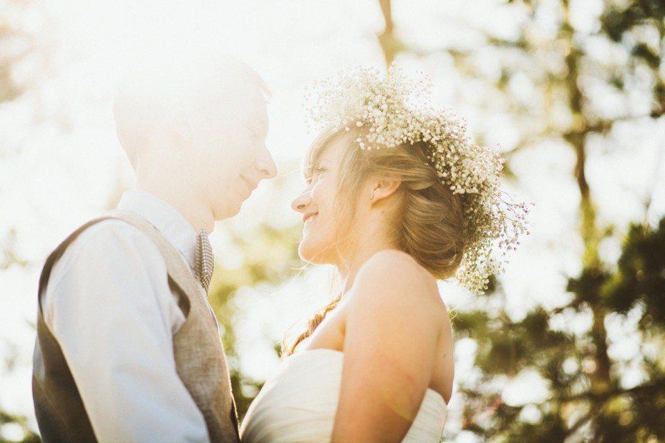 Солнечное лето: рустик свадьба Васи и Алены
