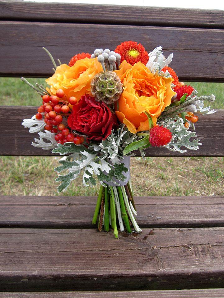 Цветочная кухня: оранжевый привкус осени