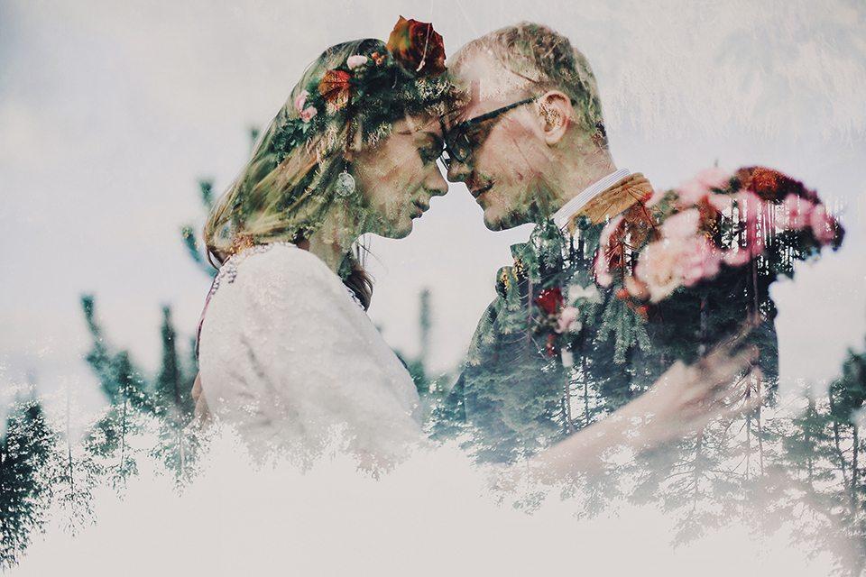 Томная осень: свадьба Наташи и Олега