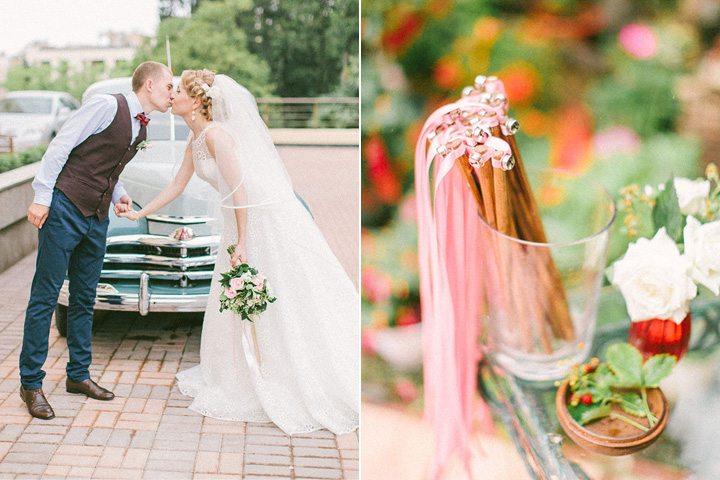 Ягодное лето: свадьба Дмитрия и Екатерины
