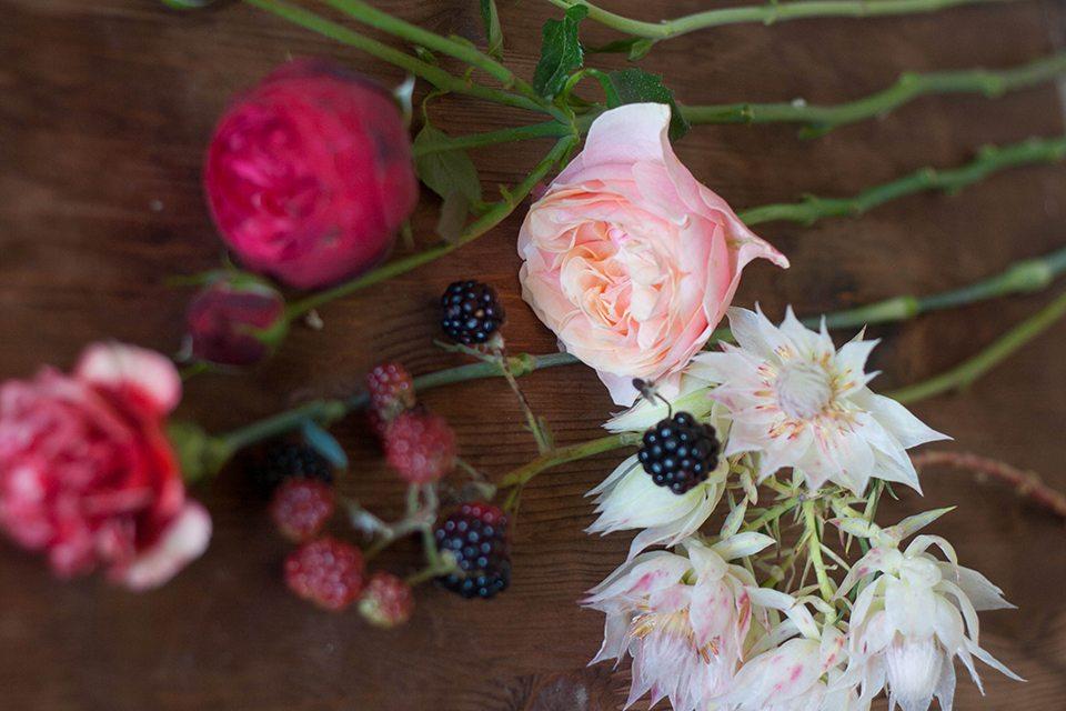 Цветочная кухня: ягодное лакомство