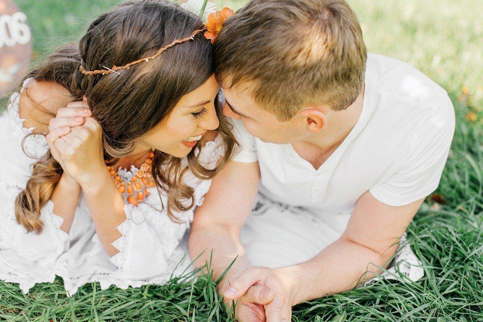 Цитрусовая любовь: годовщина Яны и Вани
