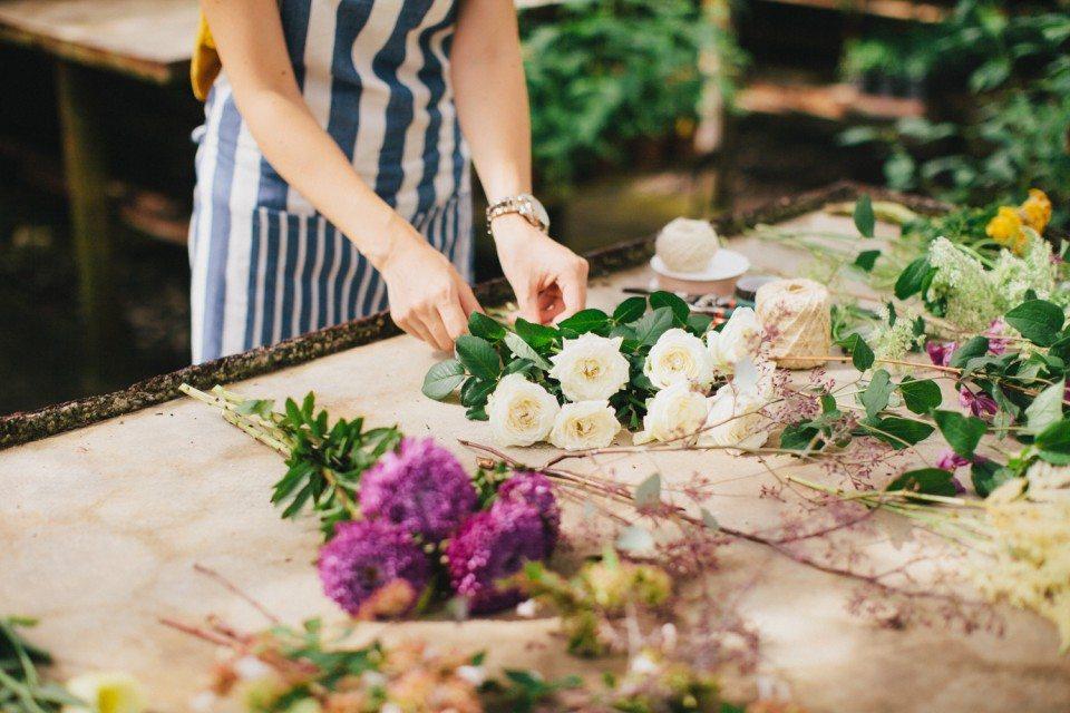 Цветочная кухня: букет из воздуха
