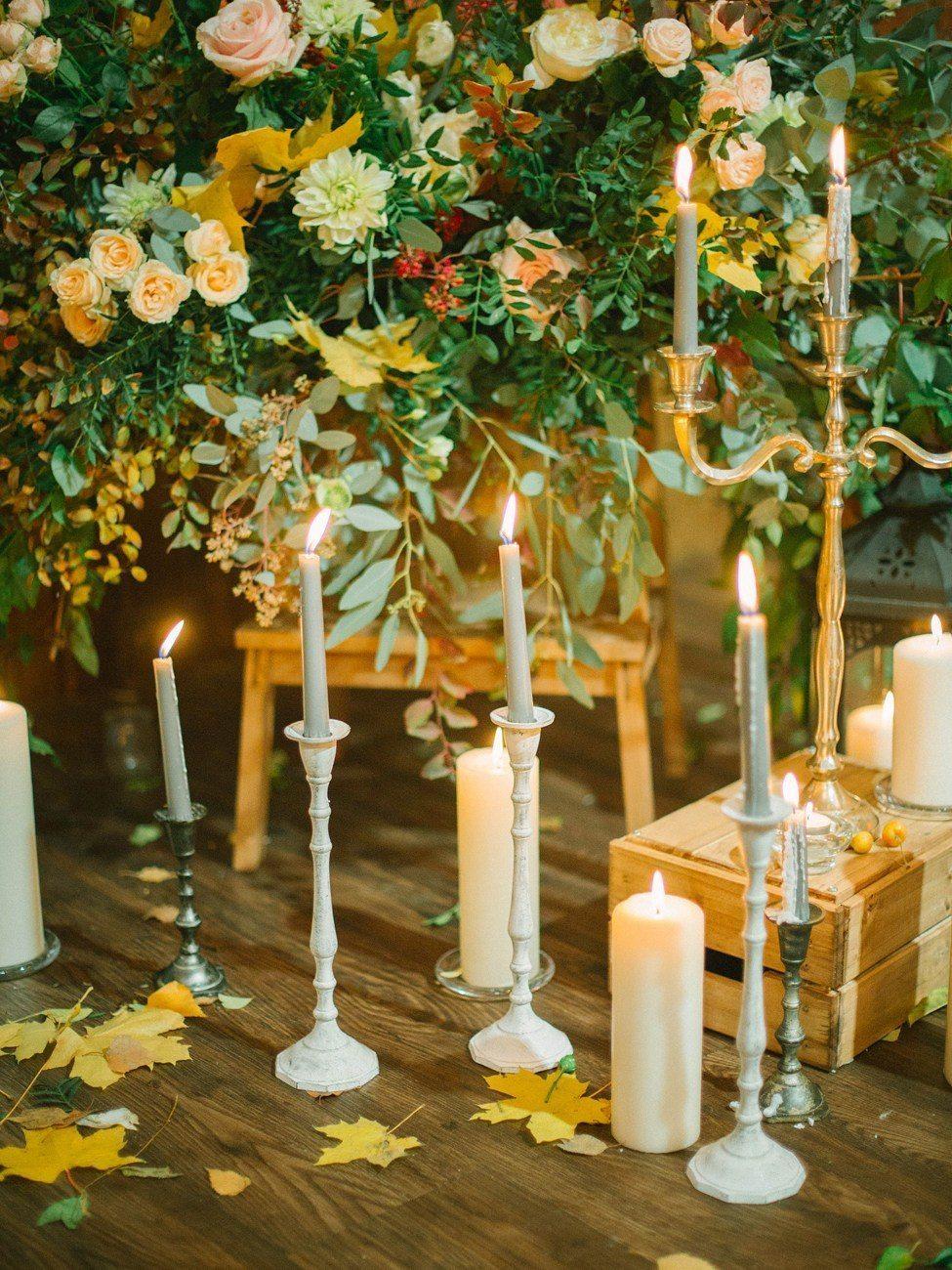 Декор осенней свадьбы: 5 главных деталей
