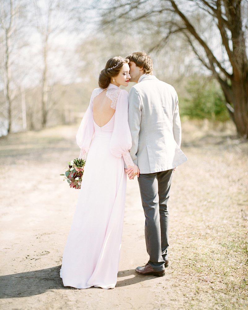 Легкость весеннего ветра: свадьба Саши и Маши