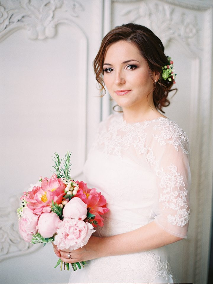 Нежность и классика: свадьба Сергея и Ольги
