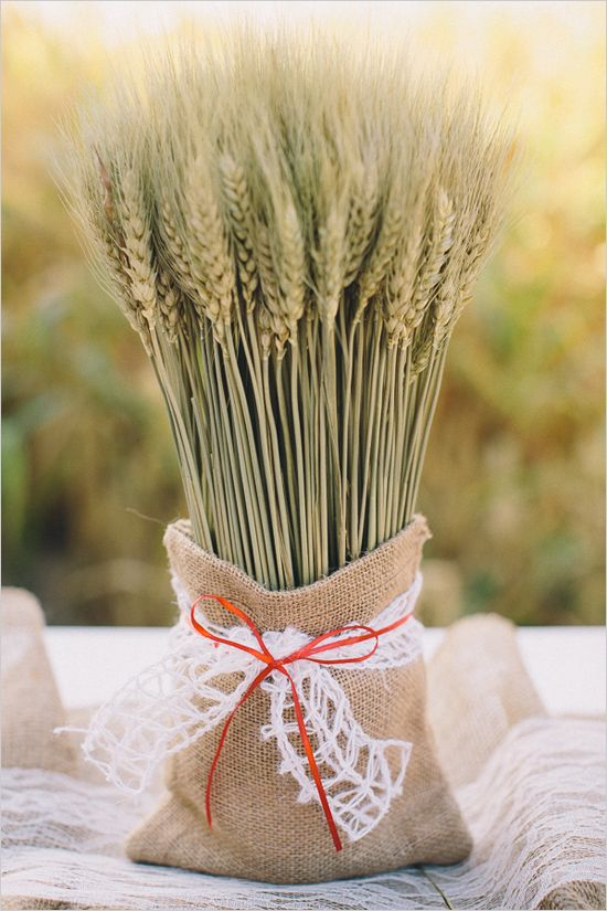 wheat sack wall decor - 550×825