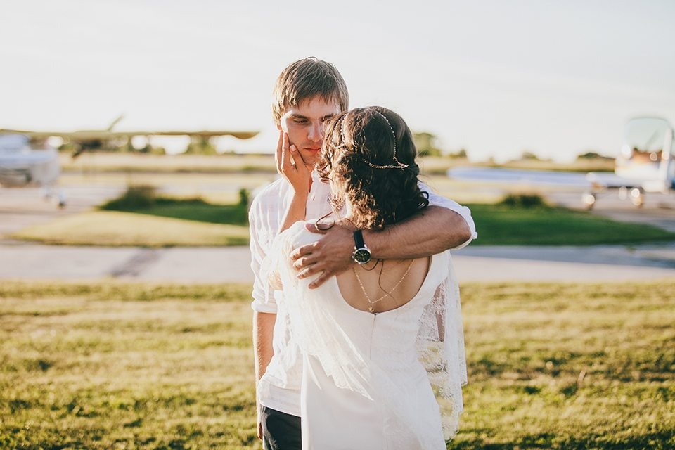 Взлетная полоса любви: свадьба Артема и Иры