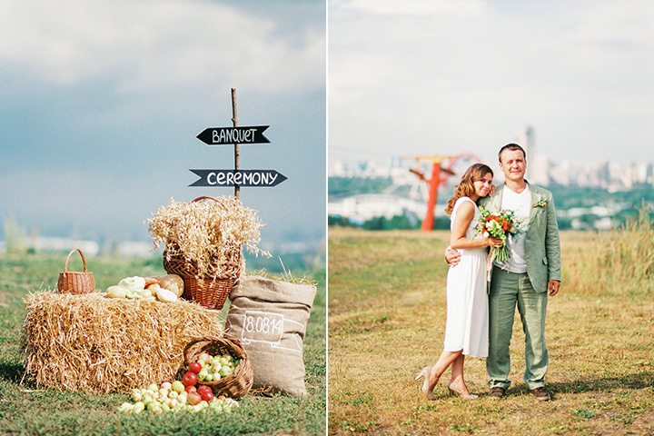 Тонкий луч солнца: свадьба Ани и Миши