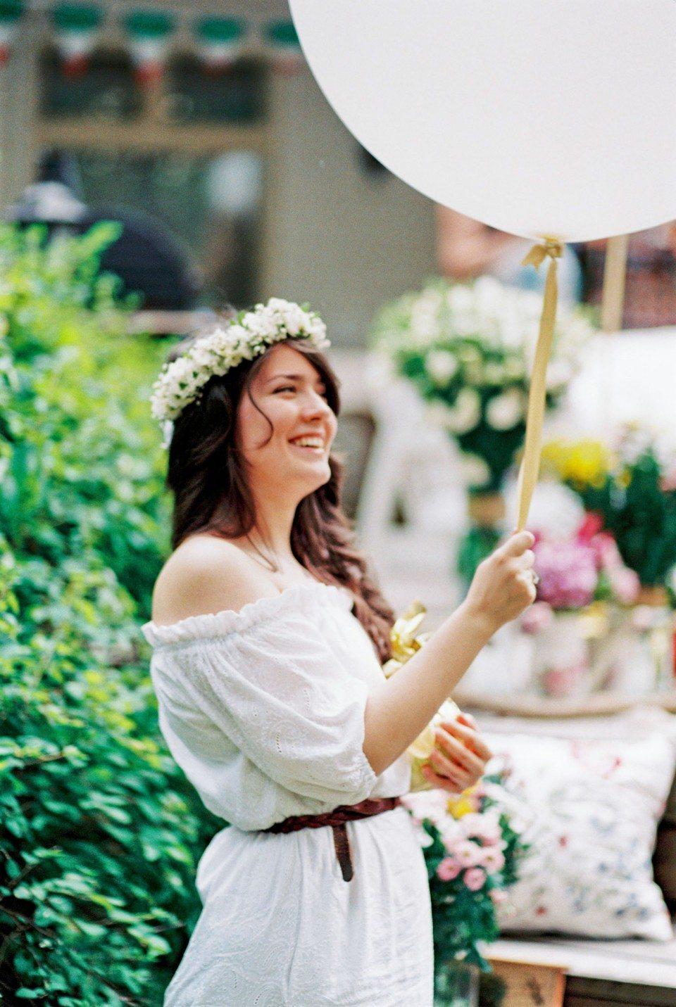 Свежесть лета: девичник Виолетты