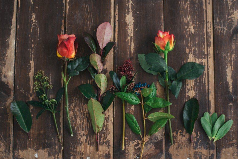 Цветочная кухня: пряная осень в букете невесты