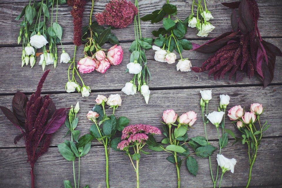 Цветочная кухня: винная осень