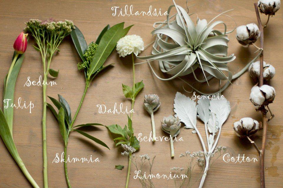Цветочная кухня: нотка экзотики в букете невесты