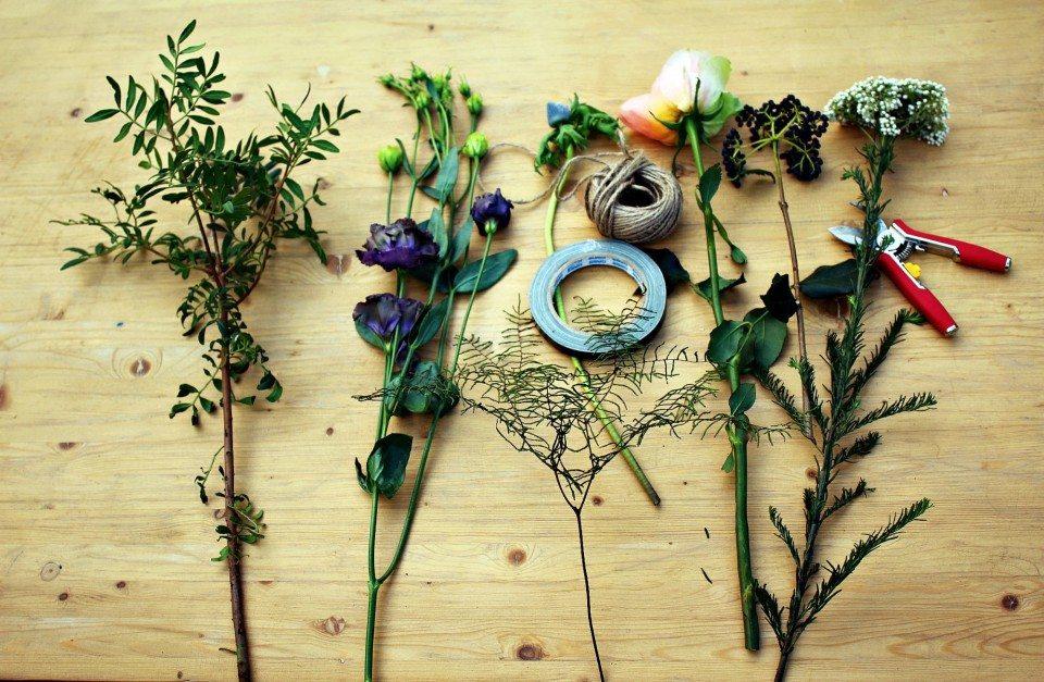 Цветочная кухня: контрасты осени