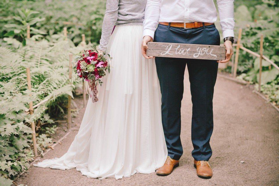 В цвете любви: свадьба Ильи и Анны