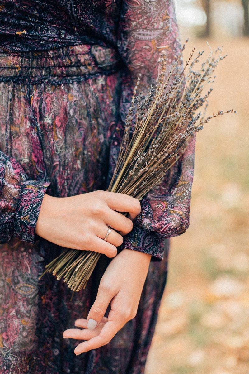 Fall in love: осенняя фотосессия Анны и Романа