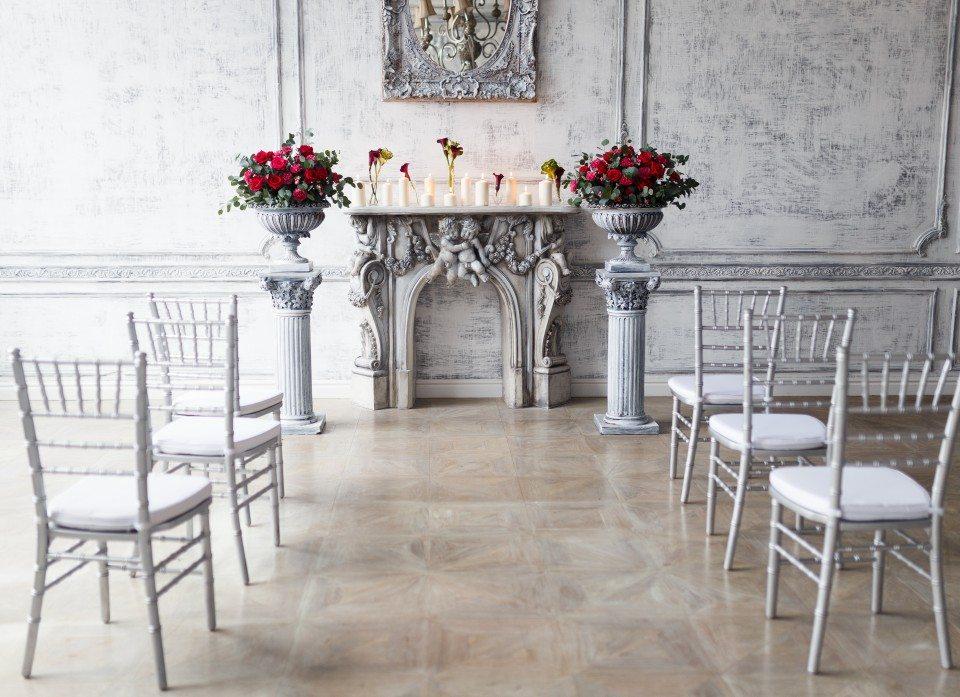 Гармония цвета: стилизованная свадебная съемка