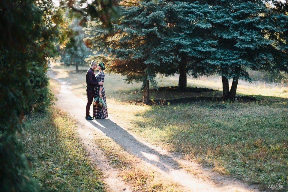 Теплые краски осени: love-story Валерии и Павла