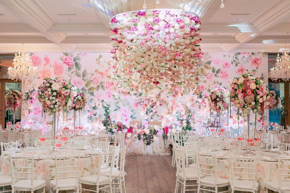 Цветочная магия: свадьба Марии и Антона