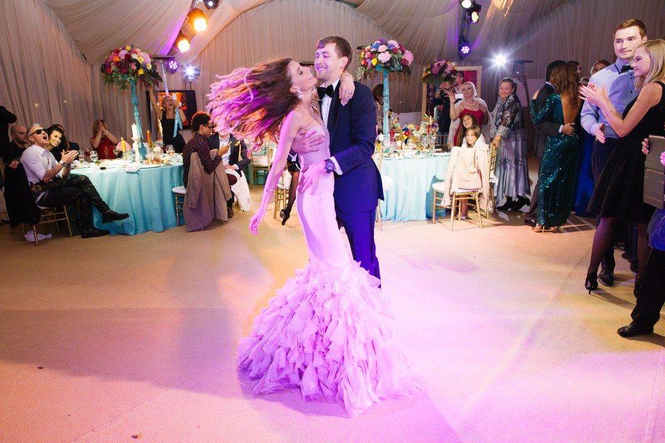 Яркая палитра: свадьба Жени и Саши