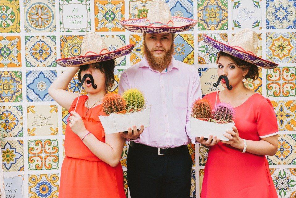 Мексиканские краски: свадьба Андрея и Лизы