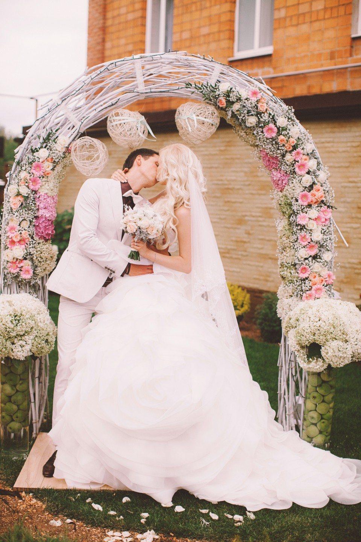 Воздушная нежность: свадьба Алины и Никиты