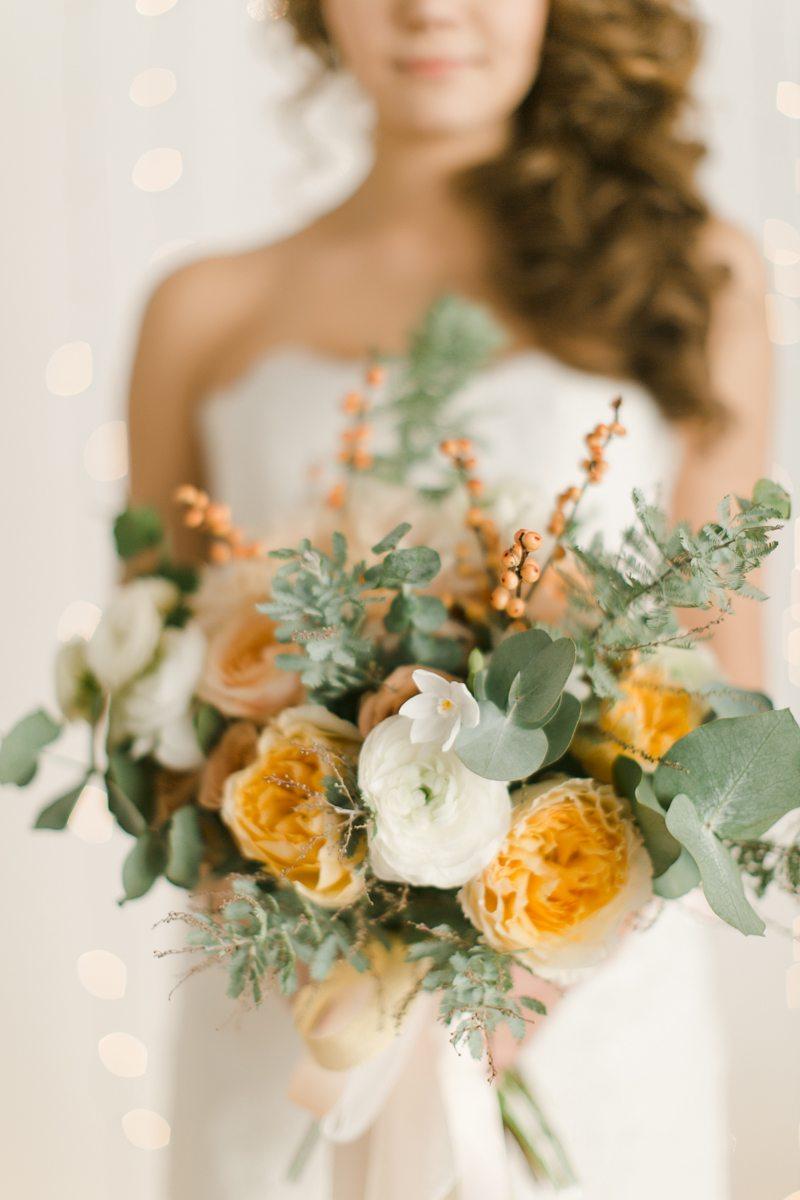 Зимняя нежность: свадьба Марии и Даниила