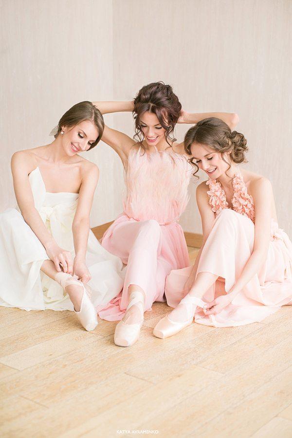 Вдохновение балетом: стилизованная съемка