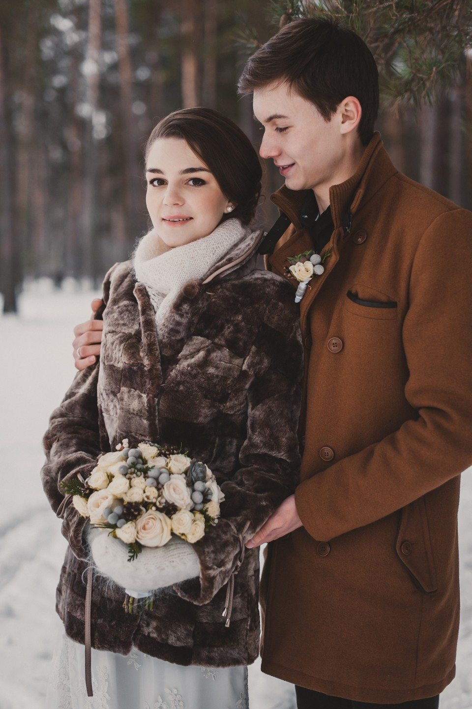 Еловый зимний аромат: love-story Никиты и Валентины