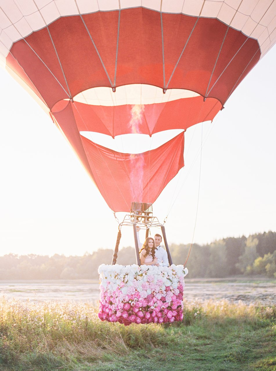 Вдохновение витает в воздухе: стилизованная съемка