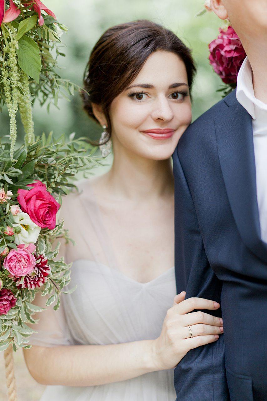 Нежность в любви: свадьба Леши и Оли