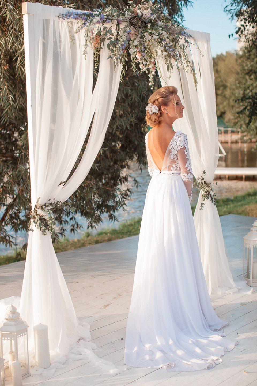 Морской закат: свадьба Анны и Александра