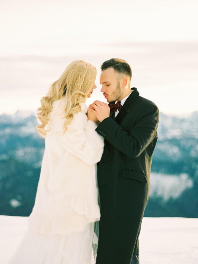 Твоя любовь, как первый снег: предсвадебная съемка Юрия и Юлии