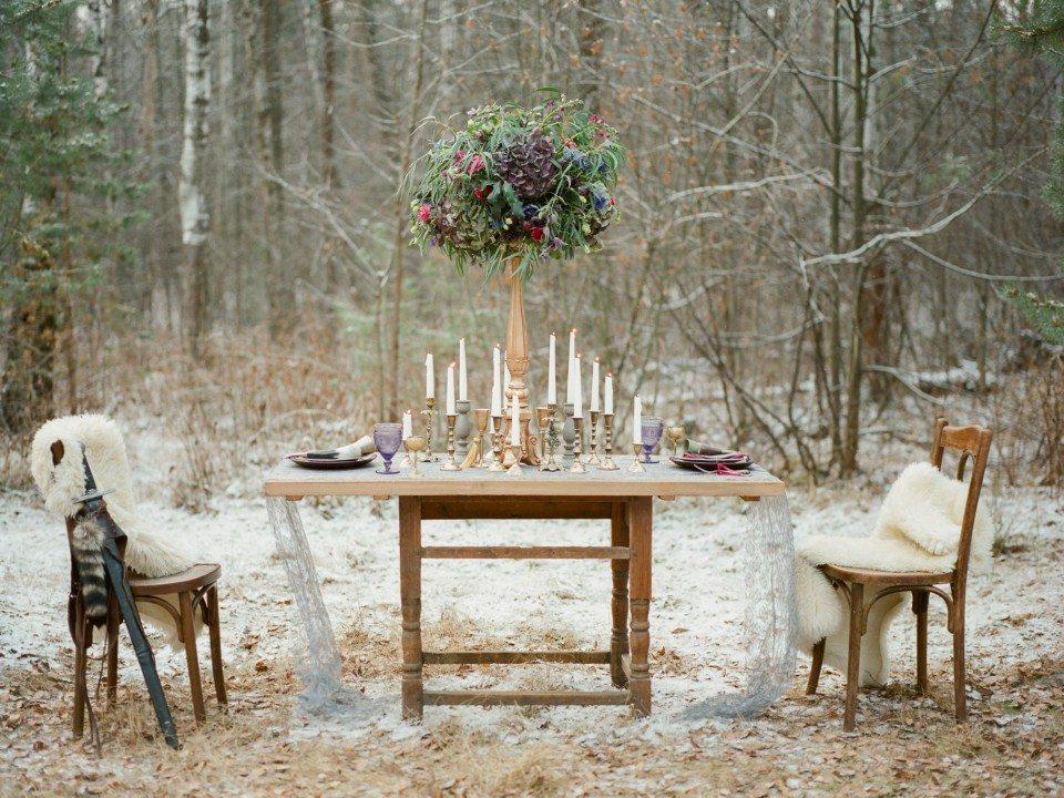 Дух леса: стилизованная съемка