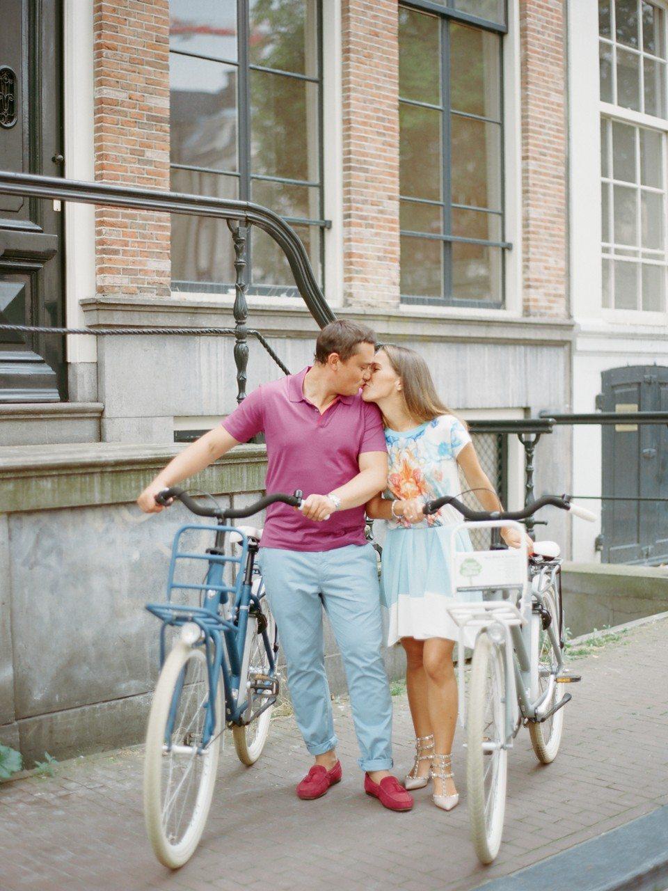Романтичный Амстердам: годовщина Лизы и Юры