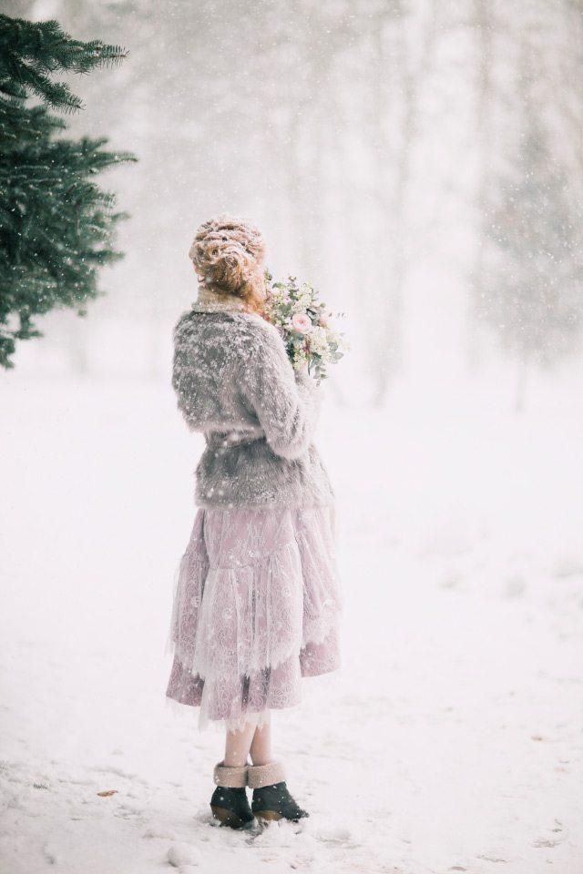 Танец зимы: свадьба Егора и Людмилы