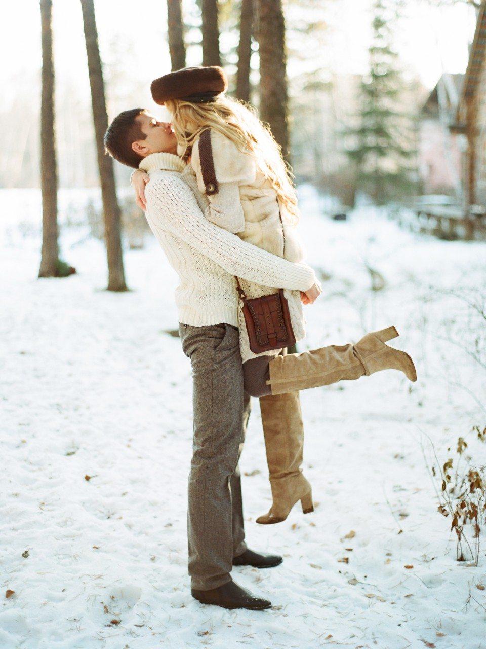 Романтика русской зимы: стилизованная съемка