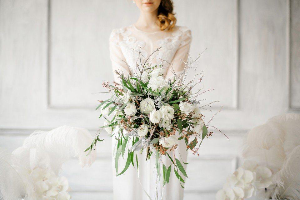 Нежное вдохновение: стилизованная съемка утра невесты