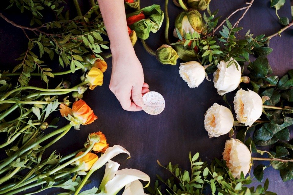 Цветочная кухня: маковый цвет