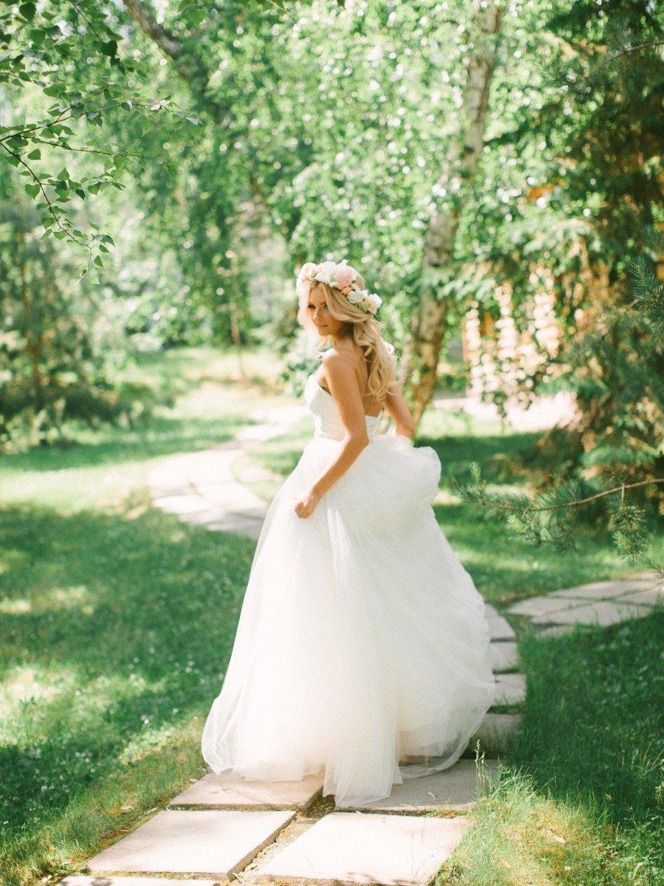 Любовь и персики: свадьба Сергея и Кристины