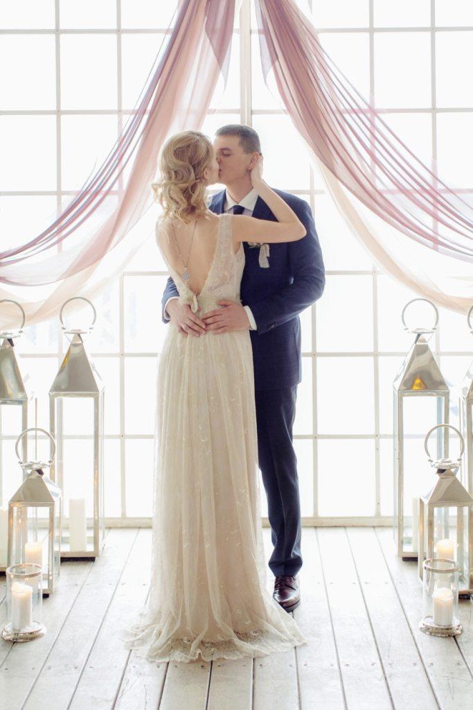 Весенняя элегантность: свадьба Вани и Насти
