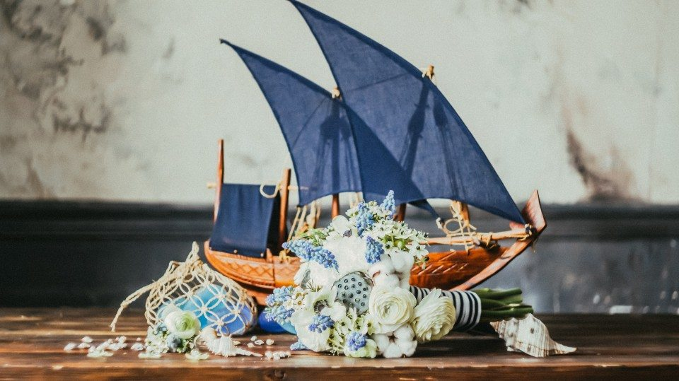 Цветочная кухня: цвета моря